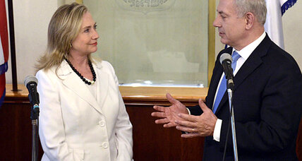 Clinton: U.S. and Israel aim to 'build the pressure' on Iran