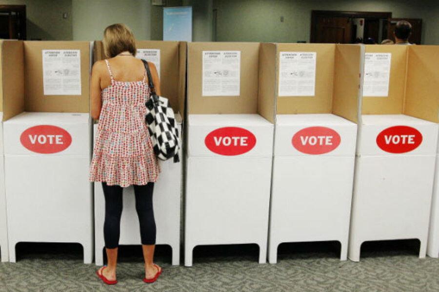 Image result for empty voting precinct