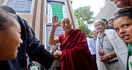 Dalai Lama visits Kashmir, a disputed land like Tibet
