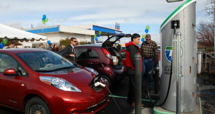 Electric car-charging stations: Will market forces cut prices?