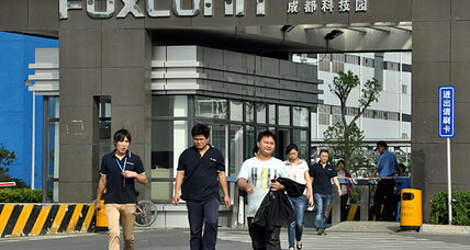 In Foxconn's iPad factory, a window on Chinese hopes - and frustrations