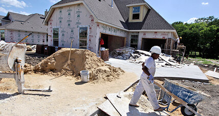 Housing market rebound? New-home starts notch a post-2008 high.