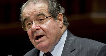 Justice Scalia says he and Roberts aren't feuding