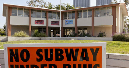 City slugfest: L.A.'s 'Subway to the Sea' runs aground in Beverly Hills