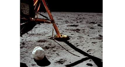 Apollo 11: See the first photo ever taken by someone on the moon