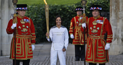 London welcomes Olympic flame as excitement for Games builds