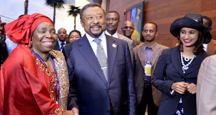 African Union gets a South African leader, lending the group heft