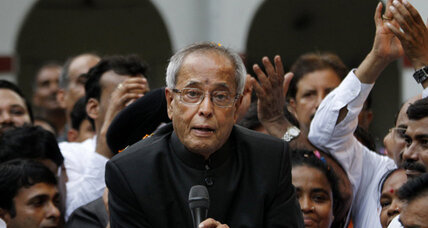 India's former finance minister wins presidency