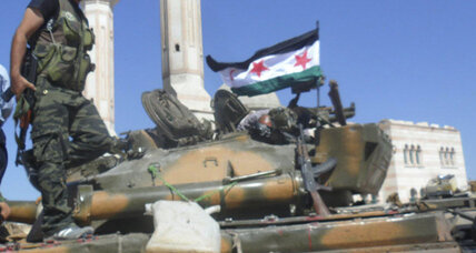 With helicopter gunships, Syrian regime wins back parts of capital