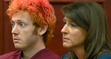 World gets first look at James Holmes, suspect in Colorado shooting (+video)