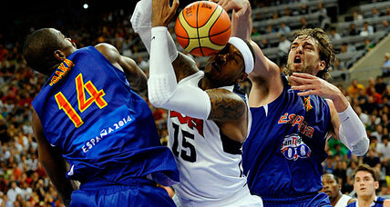 USA steamrolls Spain in Olympics tuneup: Did Spain tank on purpose? (+video)