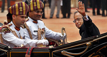 India's new president: focus is on prosperity, not terrorism