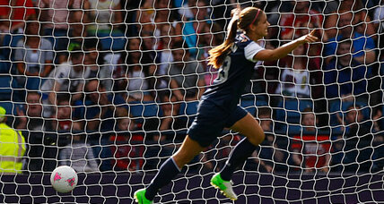 Olympics soccer: dynamic duo sparks USA comeback against France