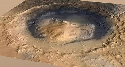 NASA's Curiosity rover to explore bizarre Martian mountain (+video)