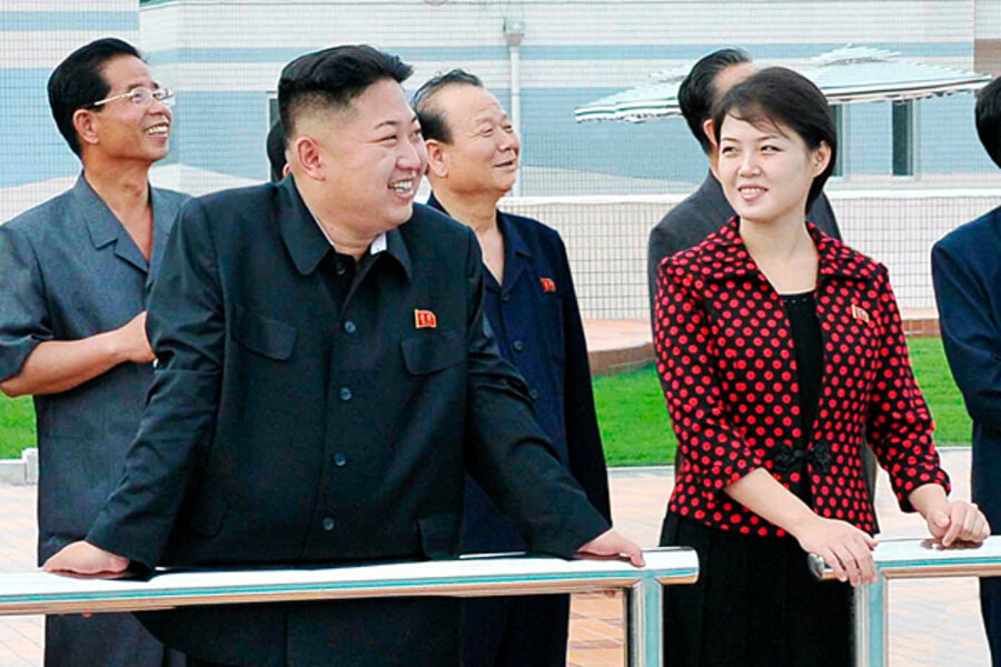 Why Has North Korea Kept Silent On Kim Jong Un S Wife Until Now Csmonitor Com