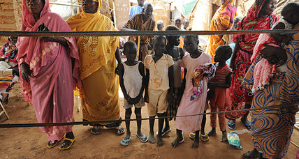 A year after freedom, South Sudanese languish up north