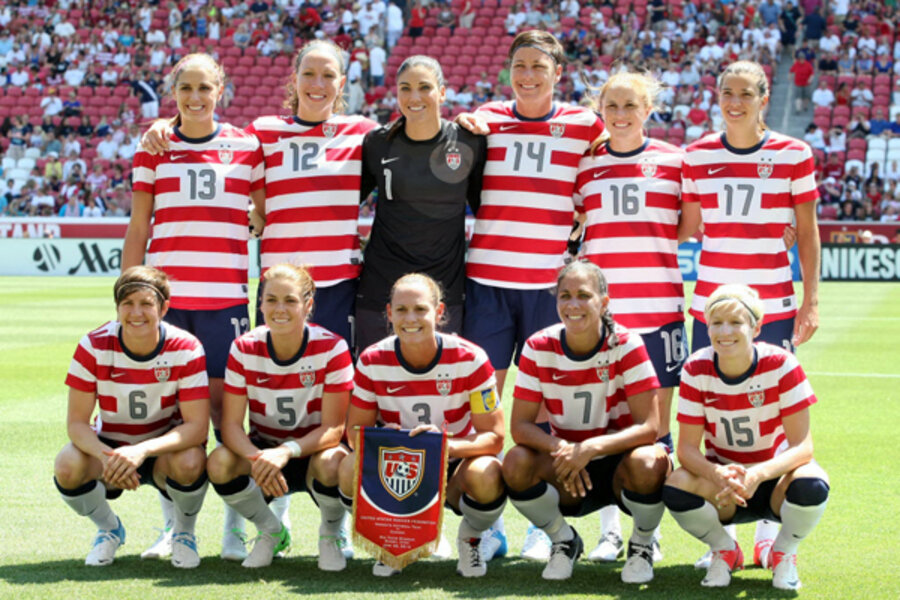 Usa Soccer Team Women London Olympics what t...