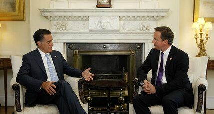 Did Romney start off on the wrong foot in London? (+video)