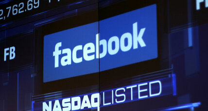 Facebook's first earnings report: mediocre results, new low for stock price