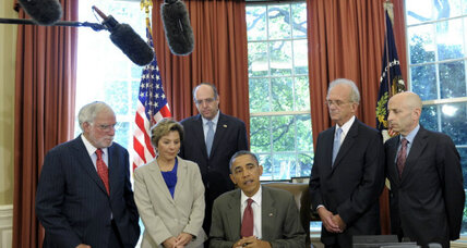 How Obama 'beat' Romney to Israel ... with a White House signing ceremony