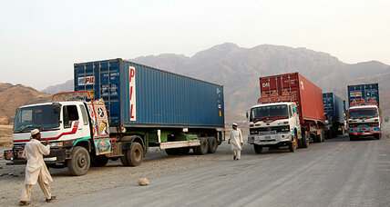 How the NATO supply route closure hit Afghan truck drivers