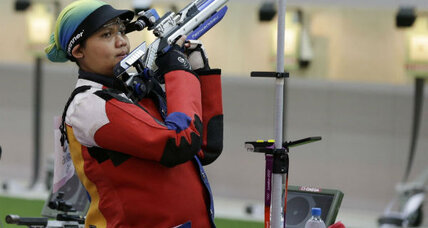 Pregnant Olympian: Malaysian shooter shrugs off criticism
