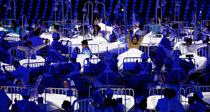 Opening Ceremony London 2012: Did director take shot at US on health care?