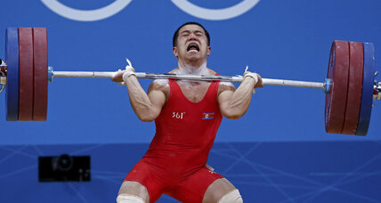 North Korean lifts three times his body weight at Olympics