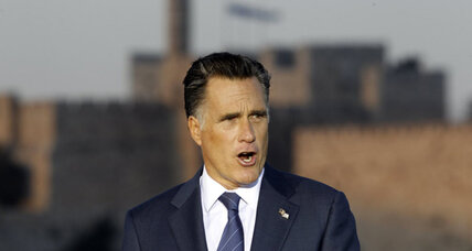 Romney's Israel speech: Iran will be 'highest national security priority'