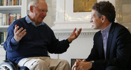 Geithner meets eurozone leaders: a step toward taming debt crisis?