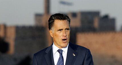 Mitt Romney in Jerusalem: Another city, another gaffe (or two)?