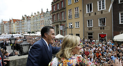 Romney visit: Poles disappointed with Obama foreign policy