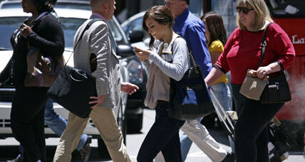 Distracted walking: Smartphone-wielding pedestrians stumble into danger
