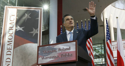 Mitt Romney's foreign trip ends. Good thing for him these are the dog days.