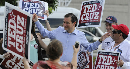 Texas: Tea Party favorite wins Republican nomination