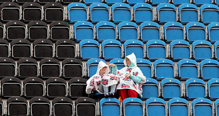 Empty seats at the Olympics: Bad price control to blame?