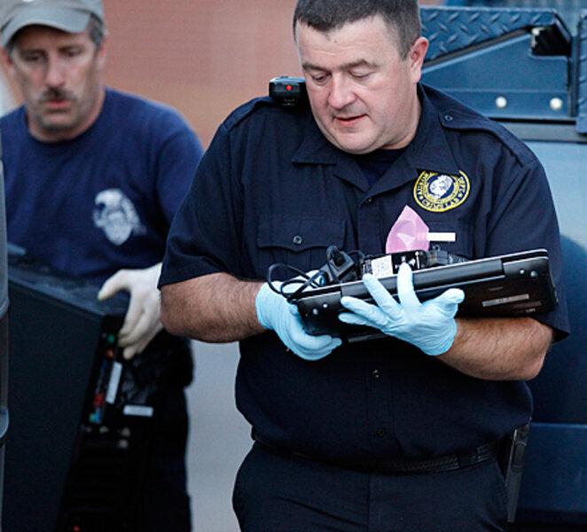 Colorado Shooting Evidence: Aurora, Colo. Shooting Aftermath