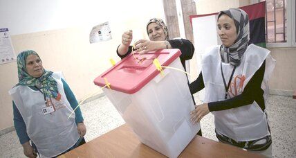 In Libya elections, lessons for Arab Spring