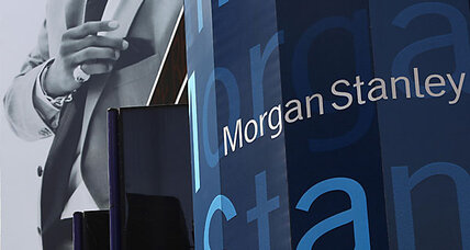 Morgan Stanley earnings fall sharply