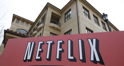 Netflix stock plunges on concerns about growth