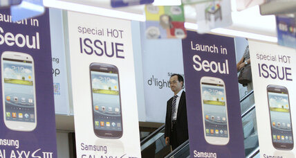 Samsung cements lead over Apple in global smartphone race