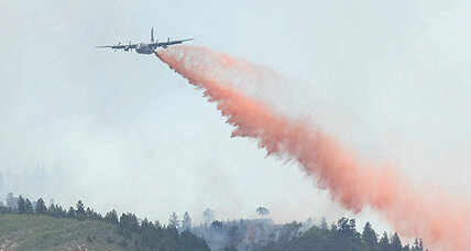 Air Force C-130 crashes while fighting wildfire