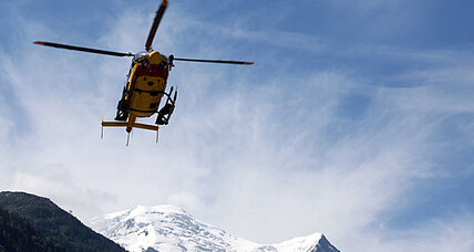 Avalanche in French Alps leaves at least nine dead, several missing