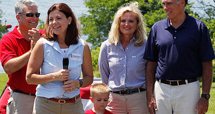 Mitt Romney's 2012 running mate could be a woman, says Ann Romney (+video)