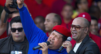 Does oil giant Chevron want Chavez to win reelection in Venezuela?