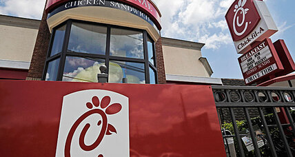 Chick-fil-A: Culture war in a chicken sandwich? (+video)