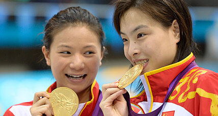 London 2012 diving: China takes gold, USA silver in 3-meter synchronized