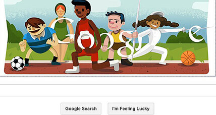 Google Doodle celebrates Olympics opening ceremony London 2012 (+video)
