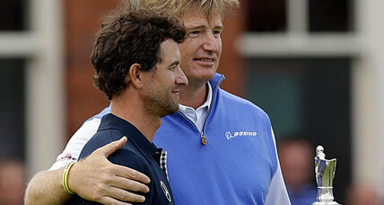 Epic Adam Scott meldown hands British Open to Ernie Els