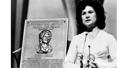 Kitty Wells was 'queen of country music'